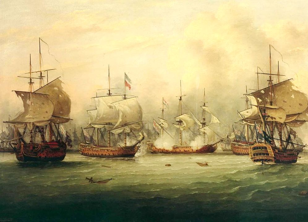 1280px The Battle of the Dogger Bank 5 August 1781