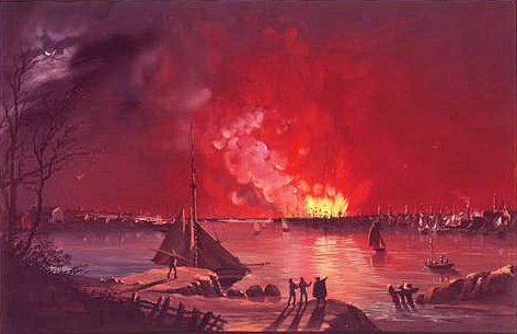 1835 Great Fire of New York
