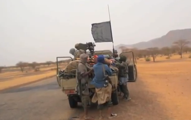 Islamist fighters in northern Mali