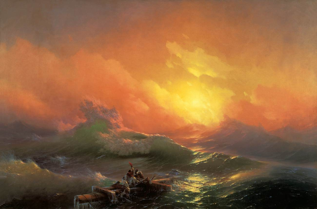 Ivan Aivazovsky - The Ninth Wave - WGA00095